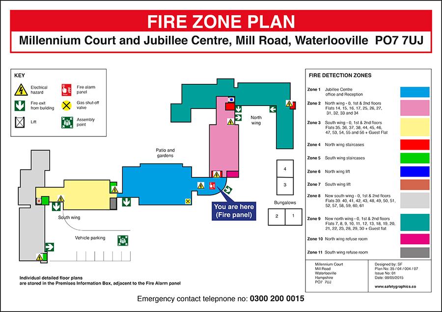 Fire Zone Plans